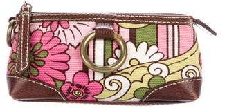Isabella Fiore Floral Print Pouch