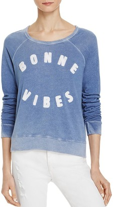 Sundry Bonne Vibes Pullover $108 thestylecure.com