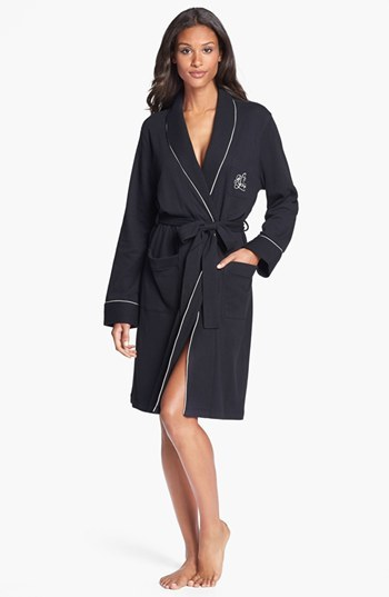 Lauren Ralph Lauren Women's Lauren Ralph Lauren Quilted Collar Robe