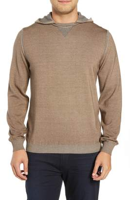 Bugatchi Hooded Pullover