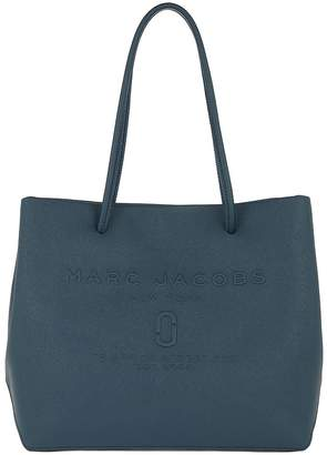 Marc Jacobs Logo EW Tote Blue Sea