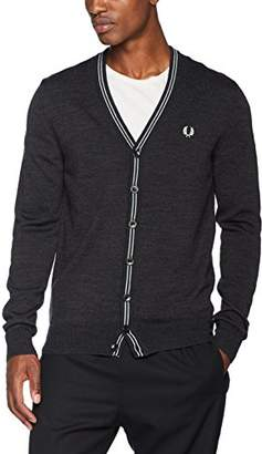 Fred Perry Men's Fine Merino V-Neck Cardigan