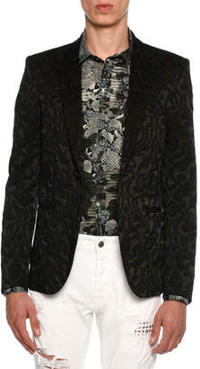 Just Cavalli Embroidered Baroque Evening Jacket