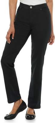 Croft & Barrow Petites Super Stretch Straight-Leg Pants