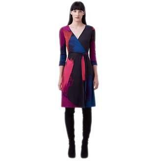 Diane von Furstenberg XV Women Fall Wrap Dress