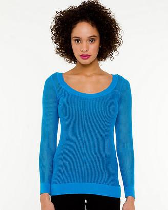 Le Château Scoop Neck Sweater