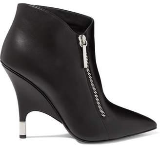 Giuseppe Zanotti Leather Ankle Boots - Black
