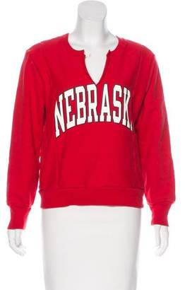 RE/DONE Nebraska Long Sleeve Sweatshirt