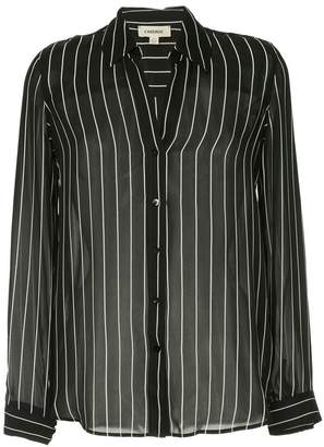 L'Agence striped blouse