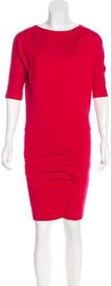 Nicole Miller Ruched Mini Dress