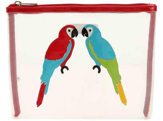 Lolo Stanley Parrots Cosmetic Bag - Women's