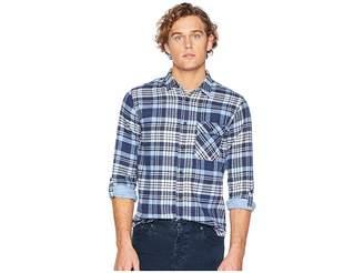 Scotch & Soda Regular Fit Brushed Check Shirt w/ Tonal Inside