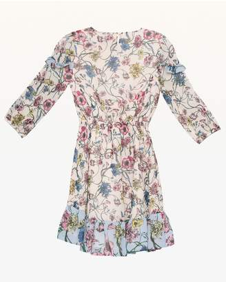Juicy Couture Mixed Floral Georgette Dress for Girls