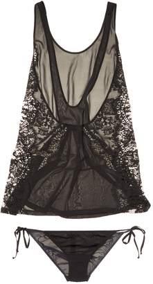 La Perla Women's Baby Doll Silk Set