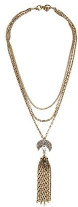Lulu Frost Muse Tassel Necklace $125 thestylecure.com