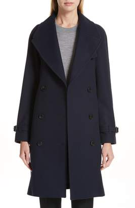 Burberry Cranston Wool Blend Trench Coat
