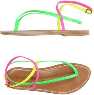 K Jacques St Tropez K.JACQUES ST. TROPEZ Toe strap sandals - Item 11016885MO