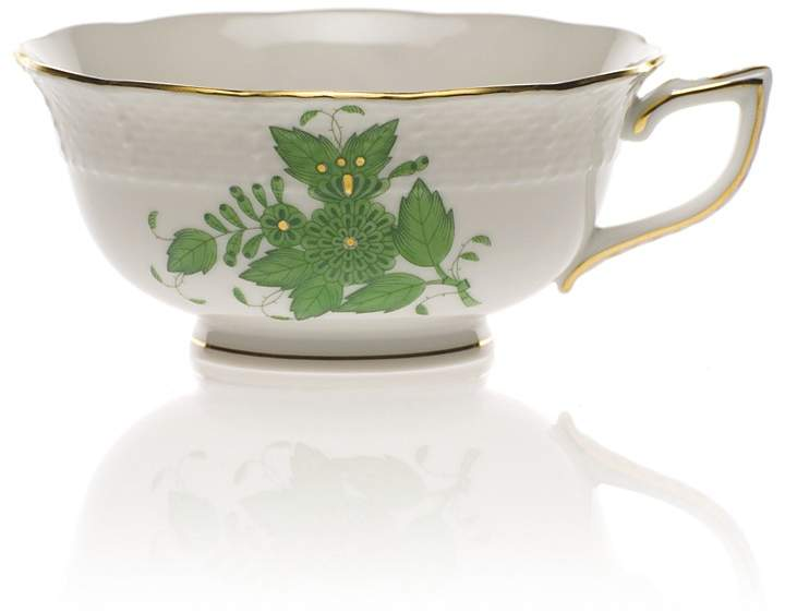 Herend Chinese Bouquet Tea Cup, Green
