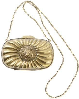 Non Signé / Unsigned Vintage Non Signe / Unsigned Gold Metal Handbag