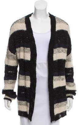 House Of Harlow Striped Open Knit Cardigan w/ Tags