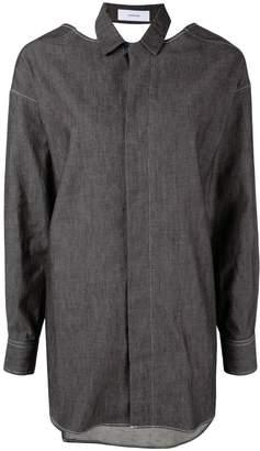 Facetasm open back shirt