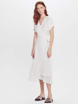 Xirena XiRENA Wren Gypset Calliope Silk Cotton Dress - Modern White