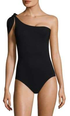 Karla Colletto Swim Barcelona One Shoulder Swimsuit
