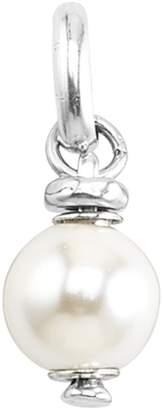 Uno de 50 Alphabet Faux Pearl Charm
