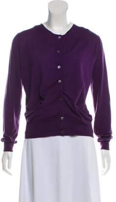 Marni Cashmere Lightweight Cardigan Purple Cashmere Lightweight Cardigan