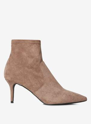 Dorothy Perkins Womens Taupe 'Motion' Boots