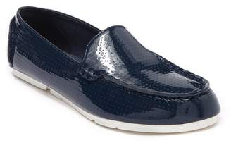 Sperry Bay View Perforated Patent Leather Loafer