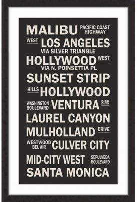 Marmont Hill Cali Sites 20-Inch x 30-Inch Framed Wall Art