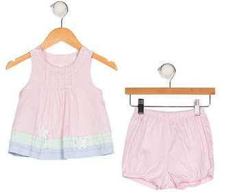 Florence Eiseman Girls' Appliqué Dress Set