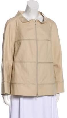 Lafayette 148 Long Sleeve Zip-Up Jacket