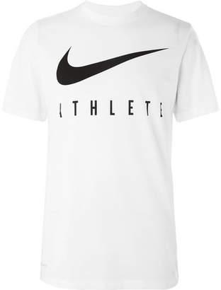 Nike Training Logo-Print Dri-Fit T-Shirt