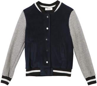 Speechless Plush Baseball Jacket, Size S-XL