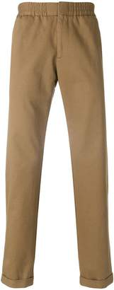 MSGM fitted chino trousers