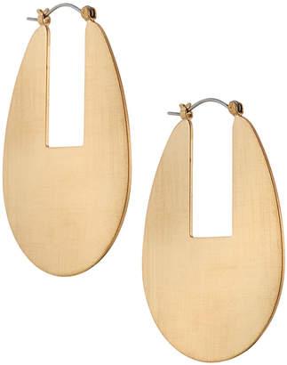 Panacea Wide Oval Hoop Earrings