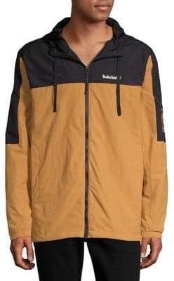 Timberland Colorblock Hooded Zip Jacket