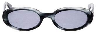 Gucci Tinted Round Sunglasses