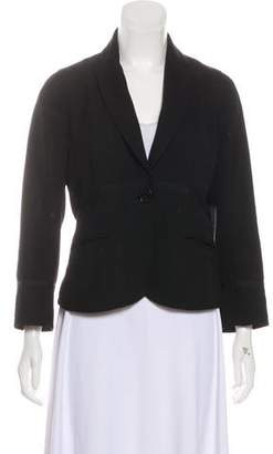 Marc by Marc Jacobs Wool Button-Up Blazer