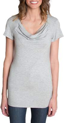 Udderly Hot Mama 'Chic' Cowl Neck Nursing Tee