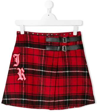 John Richmond Junior TEEN tartan skirt