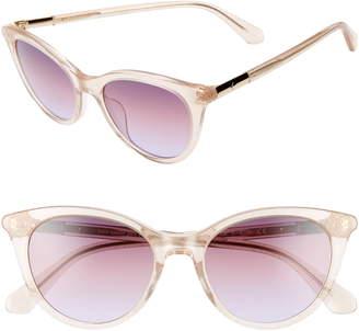 Kate Spade Janalynns 51mm Gradient Cat Eye Sunglasses