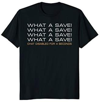 What A Save Funny Rocket Game T-Shirt