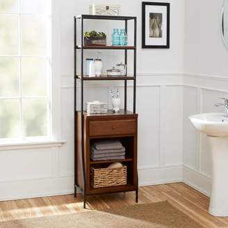 Silverwood Products Leighton Bathroom Collection Storage Linen Cabinet