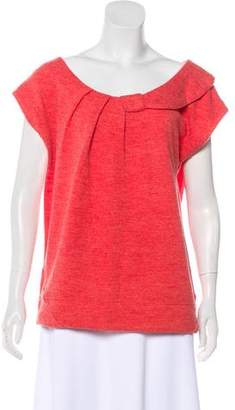 Marc by Marc Jacobs Bow-Accented Wool Sweatshirt