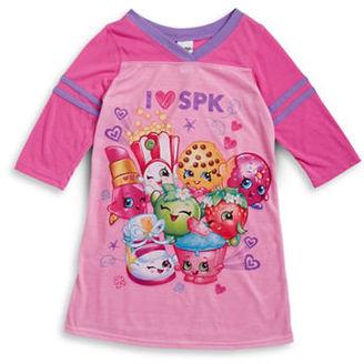 Ame Sleepwear Shopkins Nightgown $36 thestylecure.com