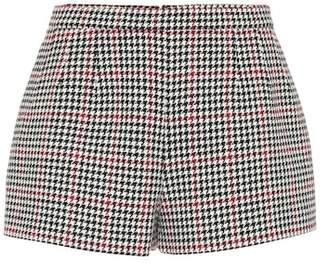 RED Valentino Houndstooth shorts