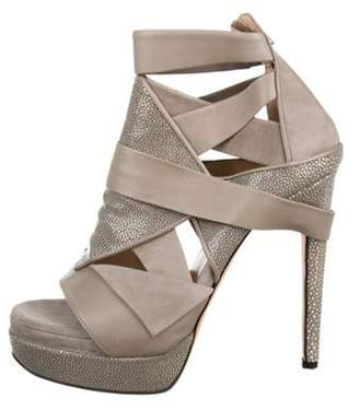 Chrissie Morris Stingray Platform Sandals Stingray Platform Sandals
